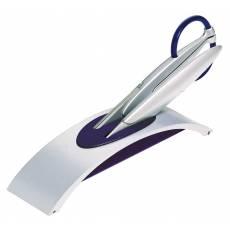 Набор: нож + ножницы на подставке Blue Magic Сhrome Lerche 98206