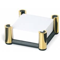Подставка для заметок с бумажным блоком Black & Gold Lerche 74417
