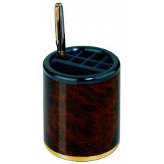 Стакан для ручек и карандашей с отделениями Laque De Chine Tortoise Lerche 35151
