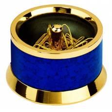 Подставка для скрепок магнитная De Chine Carrara Blue Lerche 36065L