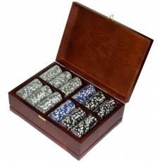 Набор покерный: 500 фишек, колода карт и кости Rovertime RTP-01
