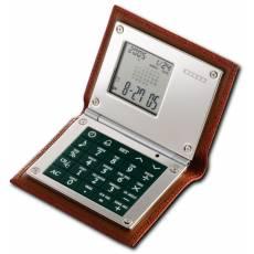 Калькулятор многофункциональный в кожаном футляре Dalvey dl428