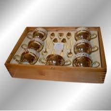 Чайный набор на 6 персон Chinelli 6069501