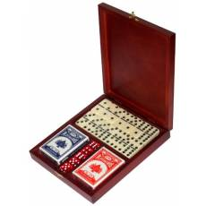 Набор игр в деревянной шкатулке Rovertime RT-24.s