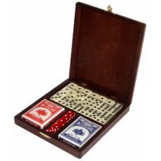 Набор игр в деревянной шкатулке Rovertime RT-04.s