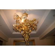 Люстра, декор в виде букета (9 светильников) (кол-во 3 штуки) 24B153