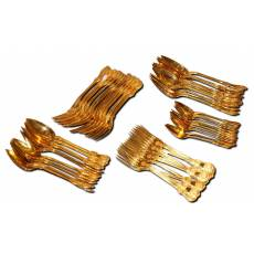 Набор столового серебра на 12 персон, 60 предметов, Европа 8C26