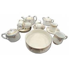 Сервиз чайный на 6 персон, 16 предметов, товарищество Кузнецова 14F55