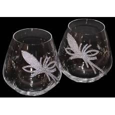 """Набор бокалов для виски """"King Flower"""" Chinelli 3077600"""