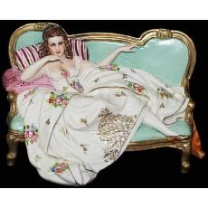 """Статуэтка """"Дама на диванчике"""" Elite & Fabris 273S/EL"""
