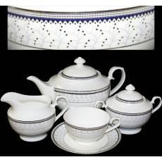 "Чайный сервиз на 6 персон ""Зима "" Glance J09-324W-15"