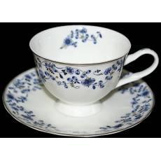 """Набор чайных пар """"Ситец """" Glance J09-213G-12T"""