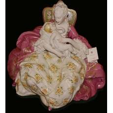 """Статуэтка """"Дама с малышом"""" Porcellane Principe 1098/PP"""