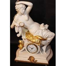 """Часы """"Дама с зеркалом"""" Porcellane Principe 412/PP"""