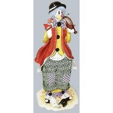 "Статуэтка ""Клоун стоящий со скрипкой"" Zampiva 30082/Z"
