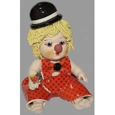 "Статуэтка ""Клоун - мальчик с букетом цветов"" Zampiva 20032/Z"