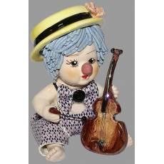 "Статуэтка ""Клоун - мальчик с виолончелью"" Zampiva 20031/Z"