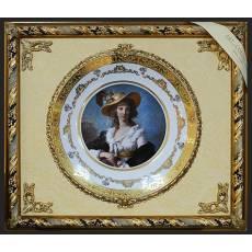 """Панно с тарелкой """"Дама в шляпе"""" Arte Casa 7061/04/CASA"""