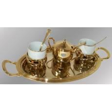"""Кофейный набор на 2 персоны """"Astra"""" Chinelli 6549"""