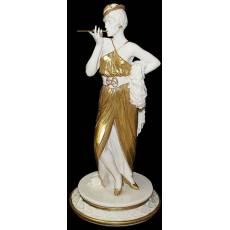 "Статуэтка ""Дама с сигаретой"" Elite & Fabris 0114 oro/EL"