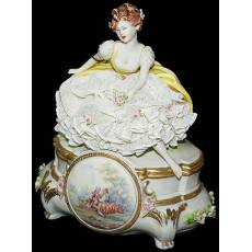"Cкульптура ""Девушка"" Porcellane Principe 418/PP"