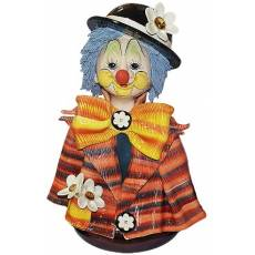 "Статуэтка- бюст ""Клоун в котелке с цветком"" Zampiva 30095/Z"