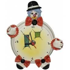 "Часы круглые ""Клоун в чёрной шляпе"" Zampiva 94032/Z"