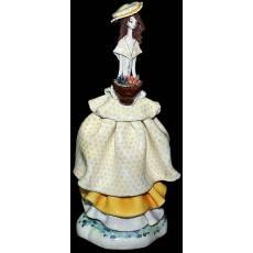 "Статуэтка ""Леди в жёлтом с цветами"" Zampiva 50128/Z"