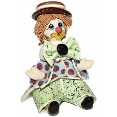 "Статуэтка "" Сидящий клоун в коричневой шляпе"" Zampiva 30038/Z"