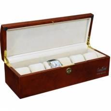 Шкатулка для хранения 6 часов Luxewood LW807-6-3