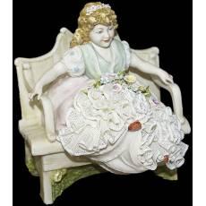 "Статуэтка ""Розалина"" Porcellane Principe 746T/PP"