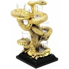 """Набор для водки """"Змея"""" Chinelli 6972"""