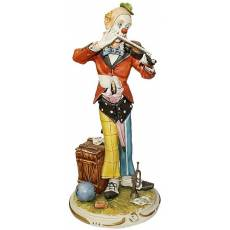 "Статуэтка ""Клоун со скрипкой"" La Medea 439/MED"