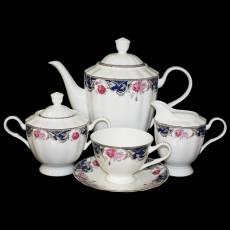 """Набор для чая 6 персон """"Розы"""" Glance J11-193WS-15"""