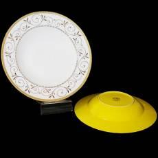 """Набор из 6-ти тарелок для 1-го """"Узоры"""" Glance GS2-002/J05-165G-PL4"""