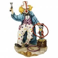 "Статуэтка ""Клоун жонглёр"" Venere Porcellane D Arte V/126"
