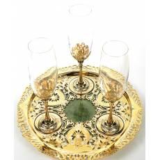 """Набор для шампанского """"Златоуст"""" RV13809CG"""