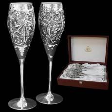 Набор для шампанского из 2-х бокалов Chinelli 8123700