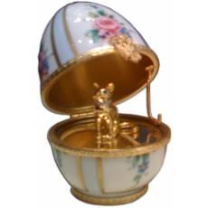 "Яйцо ""Кот"" Faberge 3518-724"