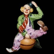 "Статуэтка ""Клоун сидящий на гире"" La Medea 628/MED"