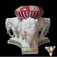 """Статуэтка- пепельница """"Три слона"""" Elite & Fabris 173B/EL"""