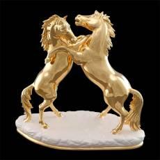 """Статуэтка """"Безудержная пара коней"""" Ahura 0878/AOP"""