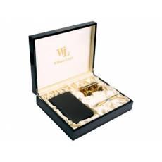 Набор: лорнет, ручка роллер, трэвел-портмоне на молнии William Lloyd 568402