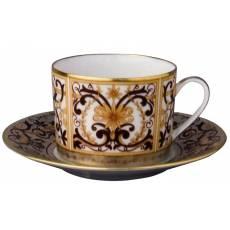 """Чашка с блюдцем для чая """"Boulle"""" BERNARDAUD 91Boulle"""