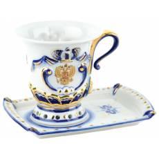 """Чашка для чая """"Утро президента"""" 82738"""