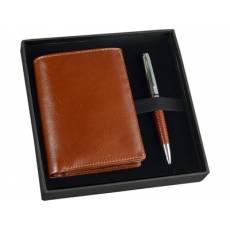 Набор: портмоне, ручка шариковая 568408