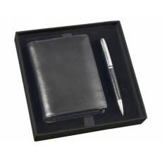 Набор: портмоне, ручка шариковая 568407