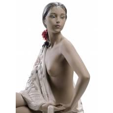 """Статуэтка """"Девушка с шалью"""" Lladro 01012536"""