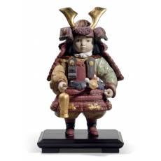 "Статуэтка ""Мальчик самурай"" Lladro 01013045"