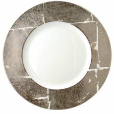 "Сервировочная тарелка ""Feuille Argent"" BERNARDAUD 6189FeuilleArgent"